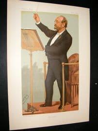 Vanity Fair Print 1894 John Barnby, Music