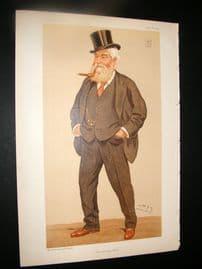 Vanity Fair Print 1894 John Dugdale Astley