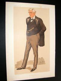 Vanity Fair Print 1894 T.F Bayard, American
