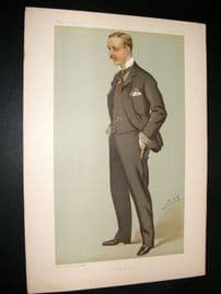 Vanity Fair Print 1895 Alfred James Bethell, Banker