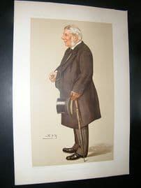 Vanity Fair Print: 1895 Baron Macnaghten, Legal