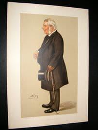 Vanity Fair Print 1895 Baron Macnaughton, Legal