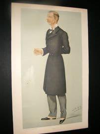 Vanity Fair Print 1895 Col. Sir Henry Edward Colvile