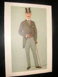 Vanity Fair Print 1895 Crown Prince of Denmark. Proof