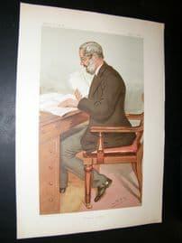 Vanity Fair Print 1895 Dr. Richard Garnett, Literary