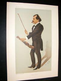 Vanity Fair Print 1895 Edward Strauss, Music