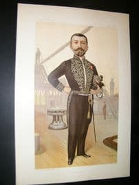 Vanity Fair Print 1895 Pierre Loti, Literary