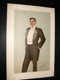 Vanity Fair Print 1896 Arthur Bourchier, Theatre