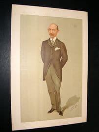 Vanity Fair Print 1896 Earl of Yarborough