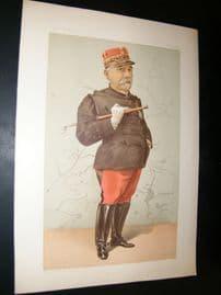 Vanity Fair Print 1896 Edmund Widdrington Byrne, Legal