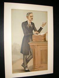 Vanity Fair Print 1896 Gerard William Balfour, Police