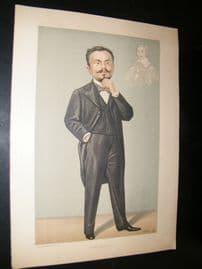 Vanity Fair Print 1896 Goerge Leach