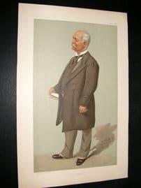 Vanity Fair Print 1896 Sir Francis Henry Evans