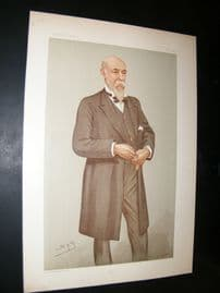 Vanity Fair Print 1896 The Lord Advocate Andrew Murray