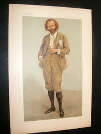 Vanity Fair Print 1896 Thomas Henry Hall Caine