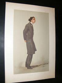 Vanity Fair Print 1897 Capt. Alfred Jephson, Military