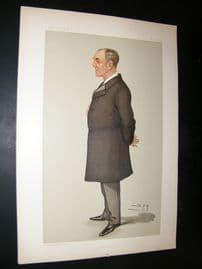Vanity Fair Print 1897 Charles John Darling Q.C