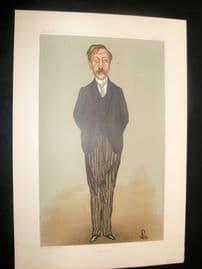 Vanity Fair Print 1897 George Moore, Literary