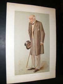 Vanity Fair Print 1897 Israel Zangwill, Literary
