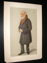Vanity Fair Print 1897 Lord Kelvin, Explorer