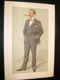 Vanity Fair Print 1897 Max Pemberton, Literary