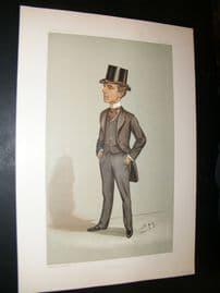 Vanity Fair Print 1897 Samuel Crockett, Literary