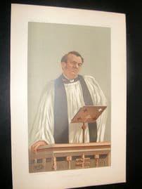 Vanity Fair Print 1898 Canon Richard Eyton