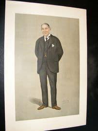 Vanity Fair Print 1898 Henry Bonsor, Freemason