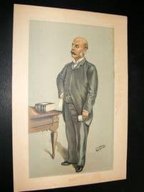 Vanity Fair Print 1898 Henry Charles Burdett