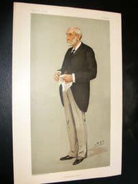 Vanity Fair Print 1898 James Lennox Hannay, Police