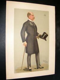Vanity Fair Print 1898 Viscount Falmouth