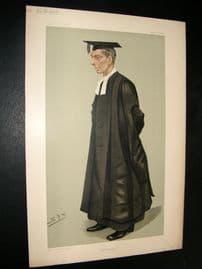 Vanity Fair Print 1898 William Gunion Rutherford