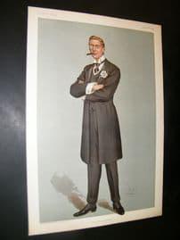 Vanity Fair Print 1899 Austen Chamberlain, Chancellor