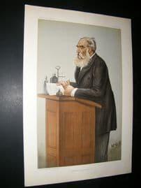 Vanity Fair Print 1899 Dr Thomas Stevenson, Doctor