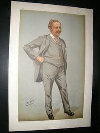 Vanity Fair Print: 1899 Edgar Thomas Cook, Newspapermen