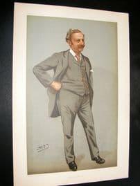 Vanity Fair Print 1899 Edgar Tyas Cook