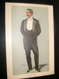 Vanity Fair Print 1899 Henry White, American