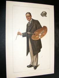 Vanity Fair Print 1899 John Seymour Lucas, Artist