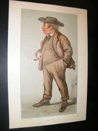 Vanity Fair Print 1899 Lord Justice Williams, Legal