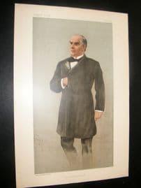 Vanity Fair Print 1899 President William McKinley, American