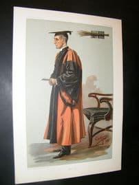 Vanity Fair Print 1899 Rev. Joseph Wood, Teacher