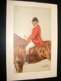 Vanity Fair Print 1899 William Ward Tailby, Fox Hunter