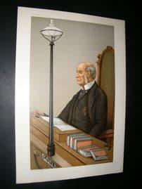 Vanity Fair Print 1900 Albert de Rutzen, Police
