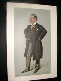 Vanity Fair Print 1900 Dr. Nathaniel Edward Yorke Davies