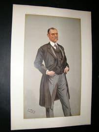 Vanity Fair Print: 1900 Frederick Treves, Doctor