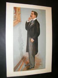 Vanity Fair Print 1900 George Denison Faber, Music