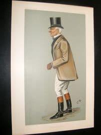 Vanity Fair Print 1900 John Earl Welby, Foxhunting