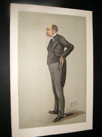 Vanity Fair Print 1900 John Fletcher Moulton