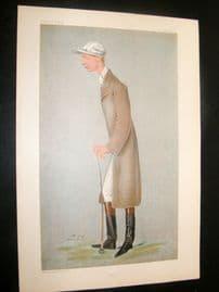 Vanity Fair Print 1900 Lester Reiff, Jockey