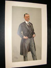 Vanity Fair Print 1900 Sir F. Treves, Doctor